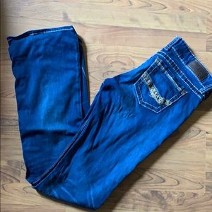 BKE Stella Extra Long Boot Cut Jeans